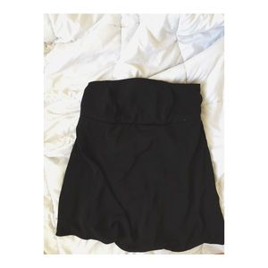 Free People Tops - Black Strapless/Backless Top